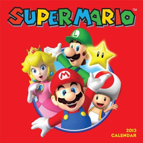 Super Mario 2013 Wall Calendar