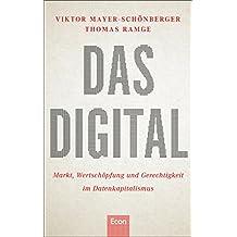 Das Digital: Markt, Wertschöpfung und Gerechtigkeit im Datenkapitalismus