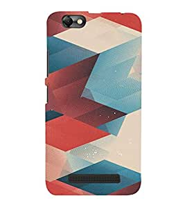 FUSON Colorful Abstract Warm Background 3D Hard Polycarbonate Designer Back Case Cover for Lenovo S820