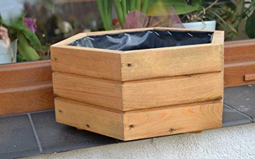 NEU Pflanzkasten aus Holz TOP Pflanzkübel Garten Terrasse fertig montiert D5 Eiche | Garten > Pflanzen > Pflanzkästen | Holz | FK-Lampem