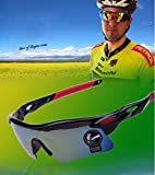 #4: Drhob 1 PC riding mountain bike goggles glasses Bicycling equipment goggles mountain running all kinds of outdoor sports shading goggles
