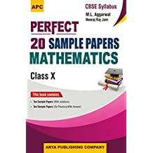 Perfect 20 Sample Papers Mathematics Class - X
