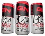 GN Laboratories BCAA 8:1:1 Drink Aminosäure BCAA Getränk Koffein Taurin Vitamine Bodybuilding Fruit Punch - Fruchtmix (BCAA Drink 24x250ml)
