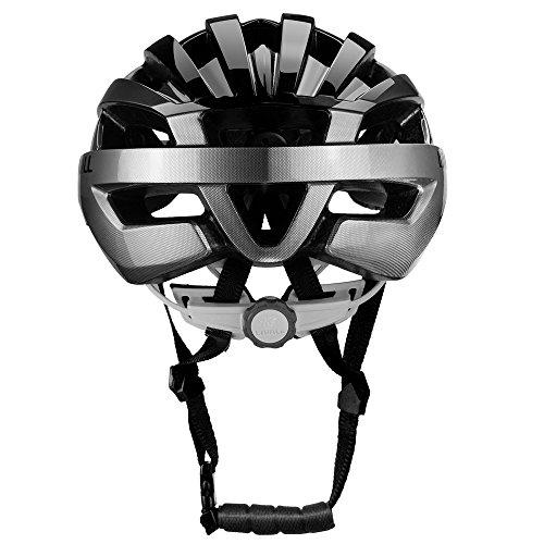 Livall Fahrradhelm MT1 mit Rücklicht, Blinker und SOS-System (schwarz/anthrazit) - 10