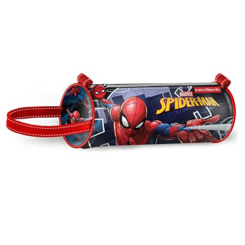 Karactermania Spiderman Hero Estuches, 22 cm, Azul