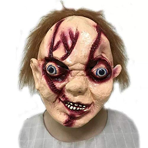 Circlefly Halloween Scary Maske Party super Horror Zombie Maske Kinder knifflige ()