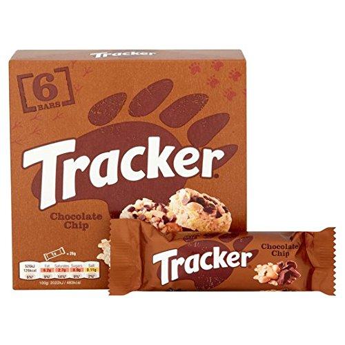 Tracker Chocolate Chip Barres de céréales 6 x 26g