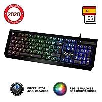 KLIM Domination Teclado Mecánico RGB ESPAÑOL - ...