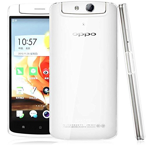 OPPO N1 Back Cover, Hard Case Back Cover, Back Cover for OPPO N1 (Transparent) Will Not Yellow Even After Long time Use