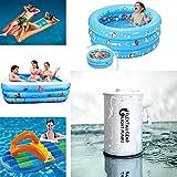 TAOtTAO Electric Inflator Wasserdichte Mini Light Air Pump USB-Gebühr für Schlauchboote Quick Inflation Deflate