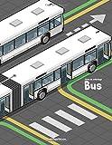 Livre de coloriage Bus 1