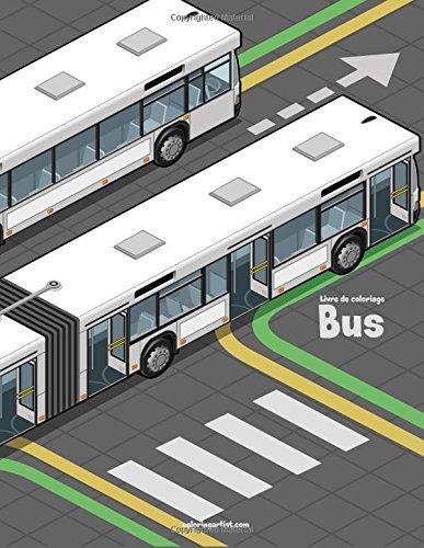 Livre de coloriage Bus 1 par Nick Snels