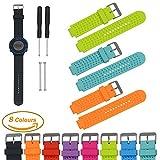 Garmin Forerunner Serie Smart Watch Ersatz Armbänd (3 Pack), iFeeker Luftloch Art weiche Silikon Bügel Ersatz Uhrenarm
