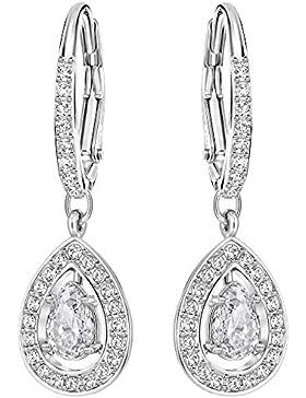 Frauen-Ohrringe Herz 5197458 Swarovski Silver