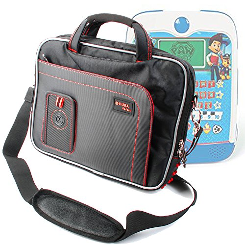Duragadget borsa per clementoni 13073 - ryder pad educativo parlante - con tracolla regolabile + maniglia - rossa