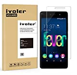 Wiko Fever 4G / Wiko Fever 4G Special Edition Protection écran, iVoler® Film Protection d'écran en Verre Trempé Glass Screen Protector Vitre Tempered pour Wiko Fever 4G / Wiko Fever 4G Special Edition- Dureté 9H, Ultra-mince 0.20 mm, 2.5D Bords Arrondis- Anti-rayure, Anti-traces de doigts,Haute-réponse, Haute transparence- Garantie de Remplacement de 18 Mois