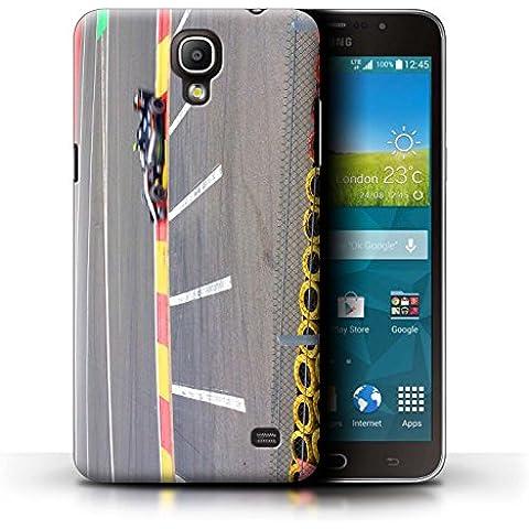 Carcasa/Funda STUFF4 dura para el Samsung Galaxy Mega 2 / serie: Pista Carreras Foto - Coche Carreras