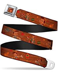Walt Disney Movies TV Shows Pinocchio's School Seatbelt Belt