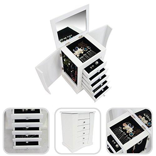 Mueble-de-almacenamiento-para-joyas-con-cajones-y-espejo-integrado-Diseo-de-Peluquera