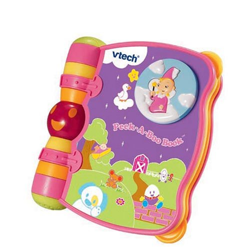 Vtech Peek a Boo Book - Pink lowest price
