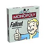 Winning Moves 000659–Brettspiel Monopoly Fallout, Sammleredition Italienische Version