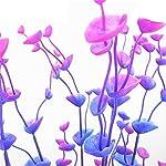 Dreammy Artificial Green Plant Aquarium Fish Tank Plastic Plants Decoration Ornament Tall Plant … 12