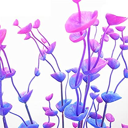 Dreammy Artificial Green Plant Aquarium Fish Tank Plastic Plants Decoration Ornament Tall Plant … 5