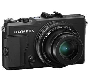 OLYMPUS Stylus XZ-2 - noir + Trépied EX-330 - noir + Carte mémoire SDHC Premium Series - 16 Go Classe 10 (LSD16GBBEU200)