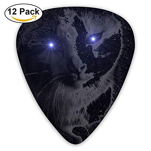 m Guitar Picks For Electric Acoustic Best Stuffer Gifts (12pack) ()