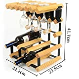 SPRING GLOW Weinregal Massivholz Weinregal Dekoration Kreative Weinschrank Restaurant Europäischen Weinglas Halter Becher Halter Hängende Weinregal