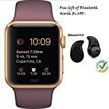 Smart Watches Best Deals - Apple iPhone 7 Plus Compatible Ceritfied GT08 Bluetooth 3.0 Smart Watch with Camera SIM for Samsung Sony Android Phone(Assorted Color) with FREE GIFT