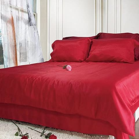 pura ropa de cama de seda/Gruesa inconsútil seda cama Mikasa-O 90x190cm(35x75inch)