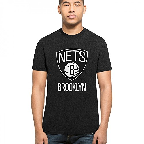 '47 Brand Brooklyn Nets Club NBA T-Shirt Schwarz S (Brooklyn Nets-t-shirt)