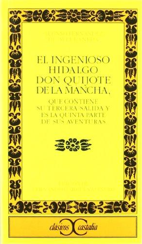 Portada del libro El ingenioso hidalgo Don Quijote de la Mancha. (CLASICOS CASTALIA. C/C.)