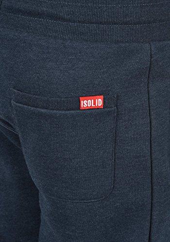 SOLID Benn Herren Jogginghose Sweatpants Sporthose mit kuscheliger Fleece-Innenseite aus hochwertiger Baumwollmischung Meliert Insignia Blue Melange (8991)