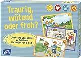 Traurig, wütend oder froh?: Denk- und Legespiele zu Gefühlen für Kinder von 3 bis 6 (Denk- und Legespiele für Kinder) - Angela Gully