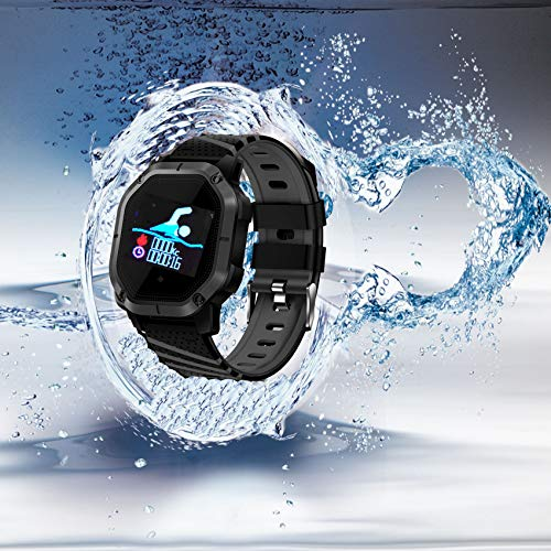 Yunzhengfei Smart Uhr Fitness Tracker mit schwimmmodus