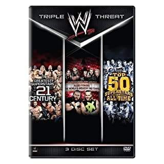 WWE: Triple Threat Collection: Greatest Superstars of the 21st Century / Allied Powers: The Worlds Greatest Tag Teams / Top 50Superstars of All Time by WWE by Various