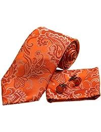 YA-BC-B.02 Multicolores con dibujos, seda Corbatas para el mejor regalo de los hombres por Y&G