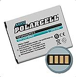 PolarCell Akku Samsung ATIV S, GT-i8750, i8370 / EB-L1M1NLU, EB-L1M1NLA (2450mAh/9,31Wh)