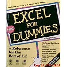 Excel For Dummies by Greg Harvey (1992-10-20)