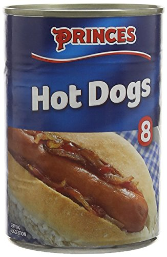 Princes 8 Hot Dogs in Brine, 400g