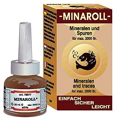 multihobbie® Esha Minaroll 20ml Nutrients Minerals Trace Elements and Vitamins for Fish from ESHA