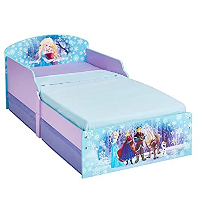 Disney Frozen 516FON - Cama Infantil con Espacio de Almacenamiento Debajo de la Cama, Color Morado de Worlds Apart