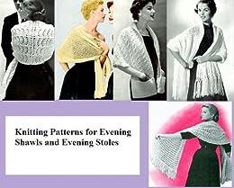 Stricken von Mustern für Abend Schals und Stolen Abend