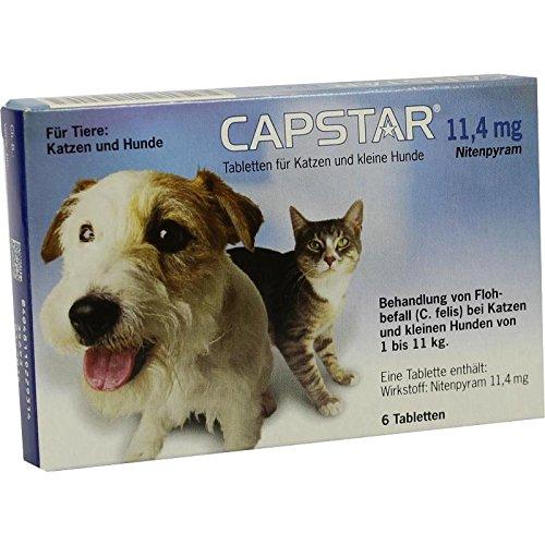Elanco Deutschland GmbH Capstar 11,4 mg für Katze 6 STK