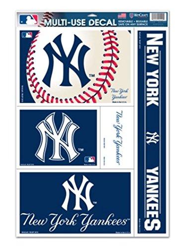 mlb-dei-new-york-yankees-28-x-43-cm-2794-11-4318-cm-x-cm-17-multi-uso-confezione-da-5-by-wincraft-ad