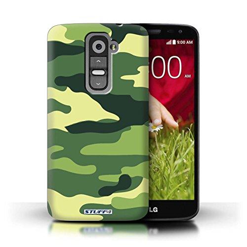 Kobalt® Imprimé Etui / Coque pour LG G2 Mini/D620 / Bleue 3 conception / Série Armée/Camouflage Vert 2
