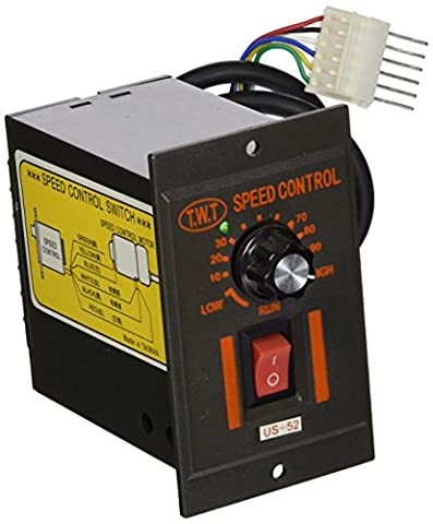 AC 220V 40W 6pins Plug Motor Speed Control Switch Controller