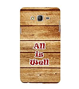 PrintVisa Healthy Quote 3D Hard Polycarbonate Designer Back Case Cover for Samsung Galaxy On7 G600FY (2015):: Samsung Galaxy Wide G600S